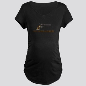 Gunsmoke Maternity T-Shirt