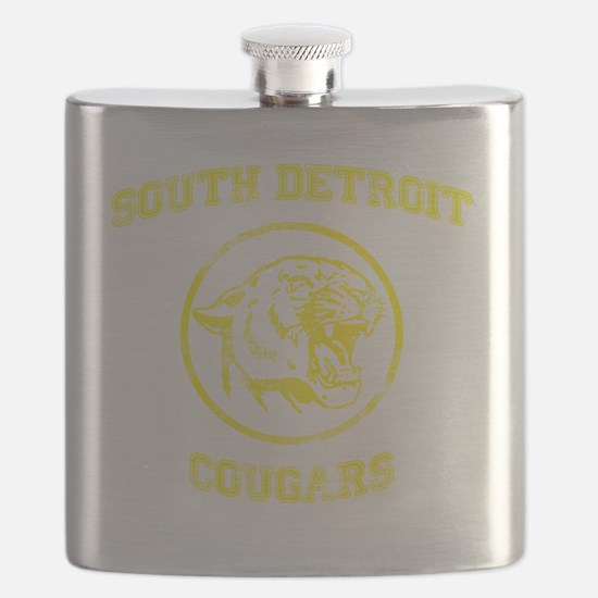 South Detroit Cougars Flask