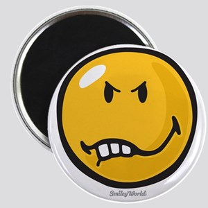 Vexed Smiley Magnet
