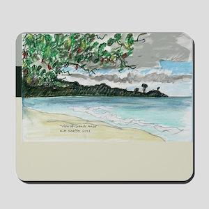 view of Grande Anse Beach Mousepad