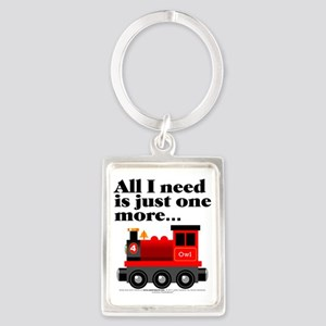All I Need Portrait Keychain