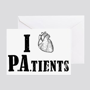 I Heart Patients Greeting Card