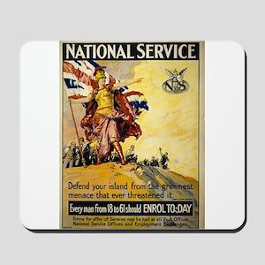 National Service - Septimus Edwin Scott - 1917 - P