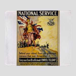 National Service - Septimus Edwin Scott - 1917 - P