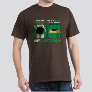 Ass vs. Hole in the Ground Dark T-Shirt