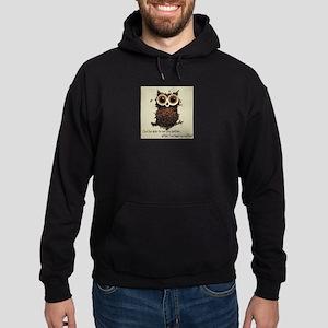 Owl says COFFEE!! Hoodie