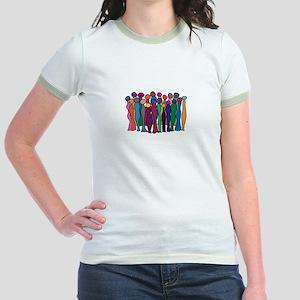 Circle Of Goddesses Jr. Ringer T-Shirt
