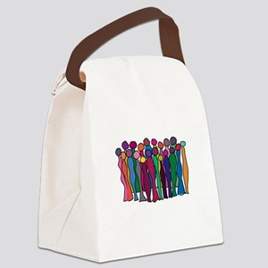 Circle of Goddesses Canvas Lunch Bag