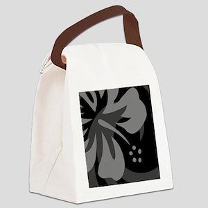 Black 60 Curtains Canvas Lunch Bag