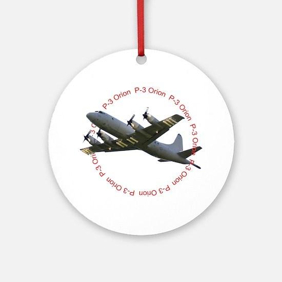 P-3 Orion Ornament (Round)
