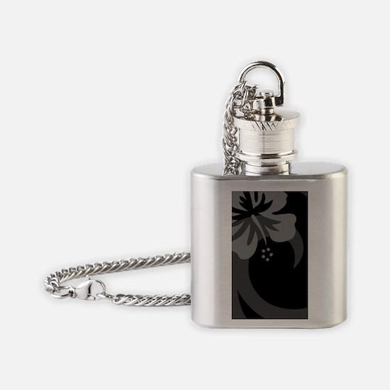 Black Galaxy S3 Case Flask Necklace