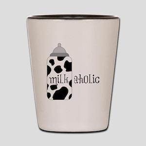 Milk-aholic Shot Glass
