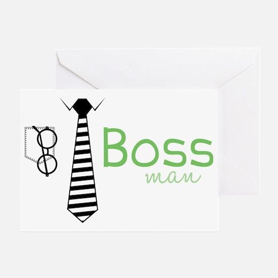 Boss Man Greeting Card