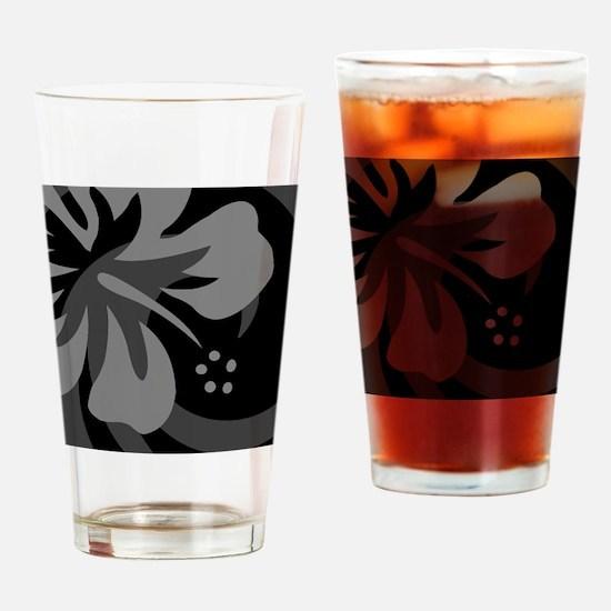 Black Cloth Napkins Drinking Glass
