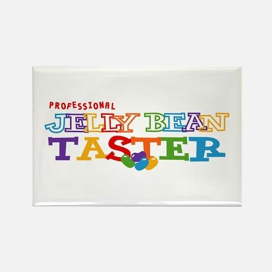 Jelly Bean Taster Rectangle Magnet