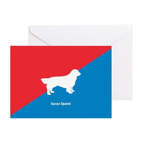 Sussex Greeting Cards (Pk of 10)