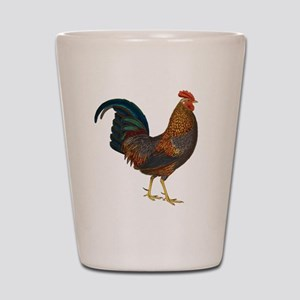 Rooster Shot Glass