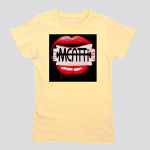 MEATTi Back Lips Logo Girl's Tee