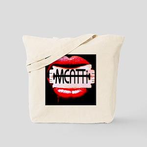 MEATTi Back Lips Logo Tote Bag