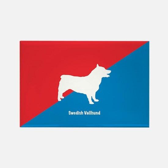 Vallhund Rectangle Magnet (10 pack)