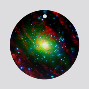 M31 Andromeda Galaxy Round Ornament
