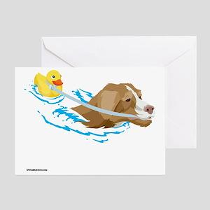Toller_Ducky_reusable_shopping_bag Greeting Card