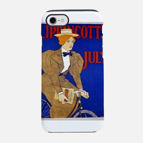 Lippincotts July - J J Gould - 1896 - Poster iPhon
