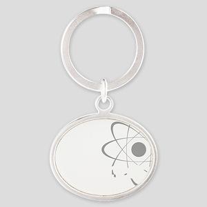 science1 Oval Keychain
