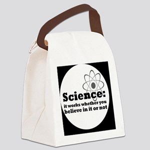 sciencebutton Canvas Lunch Bag