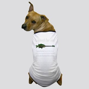 Largemouth Bass Guitar Dog T-Shirt
