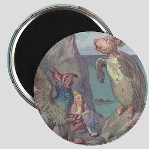 Gryphon & Mock Turtle - Magnet