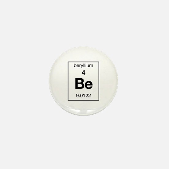 Beryllium Mini Button
