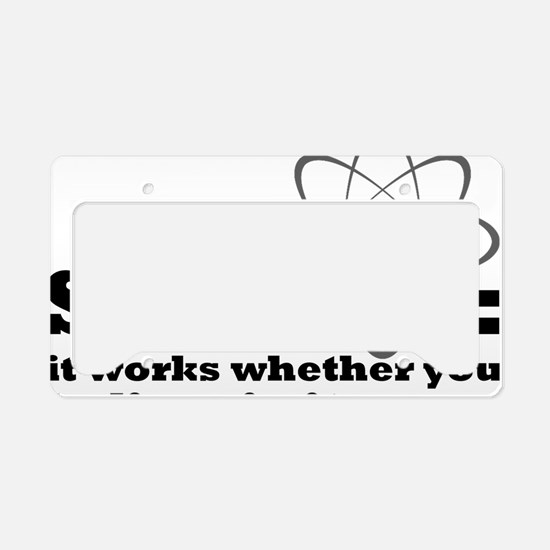 science License Plate Holder