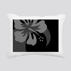 Black Rectangular Hitch  Rectangular Canvas Pillow
