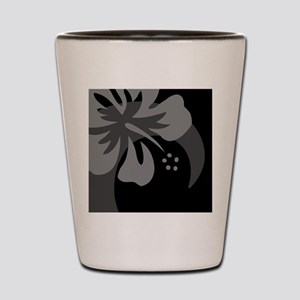 Black Rectangular Hitch Cover Shot Glass