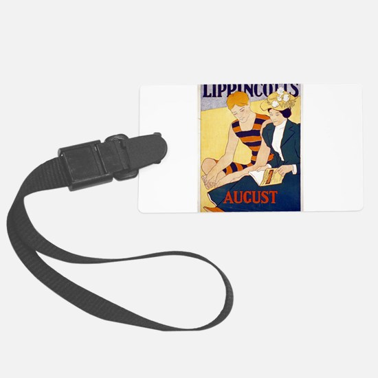 Lippincotts August - J J Gould - 1896 - Poster Lug