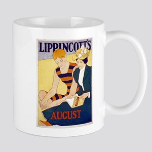 Lippincotts August - J J Gould - 1896 - Poster Mug