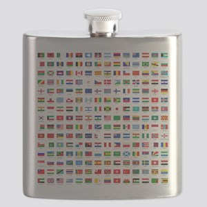alphabetically sorted flags of the world Flask