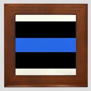 L.E.O. pride Framed Tile