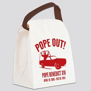 Pope Out Canvas Lunch Bag