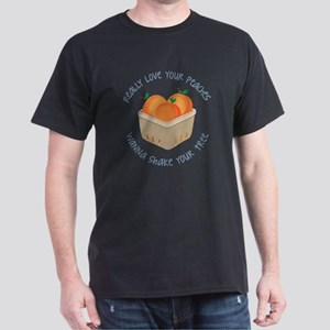 Love Your Peaches Dark T-Shirt