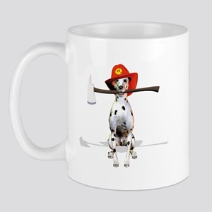 Dalmatian-Firema's Dog Mug
