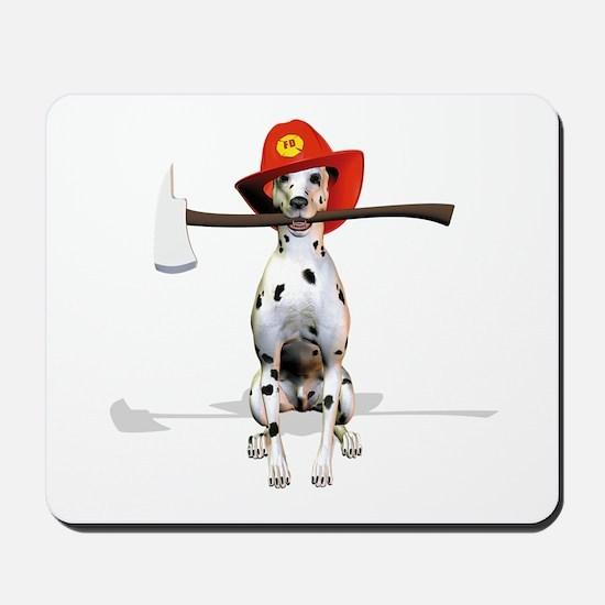 Dalmatian-Firema's Dog Mousepad
