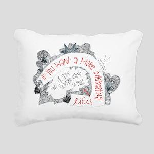 Fact Rectangular Canvas Pillow