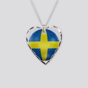 3d rendering of a Swedish soc Necklace Heart Charm
