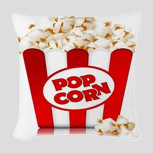 popcorn Woven Throw Pillow