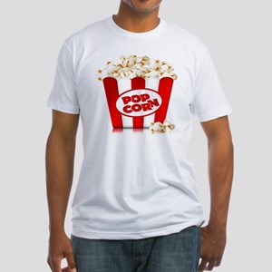 popcorn Fitted T-Shirt