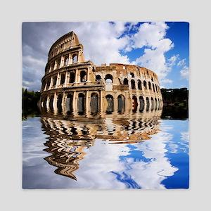 Coliseum in Rome, Italy Queen Duvet