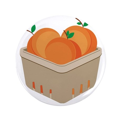"Pint of Peaches 3.5"" Button"