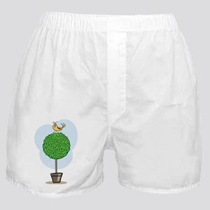 Tree Bird Boxer Shorts